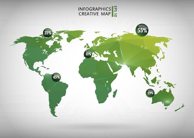 World map i