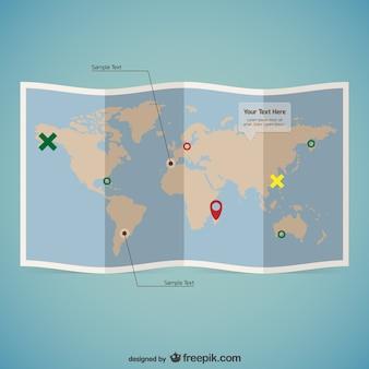 Mappa del modello mondo