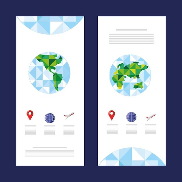 世界地図旅行