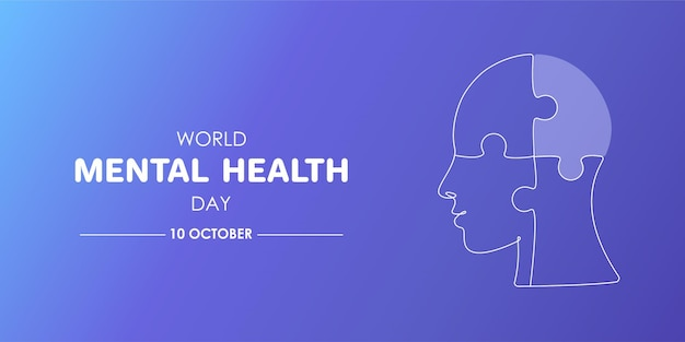 World mental health day awareness