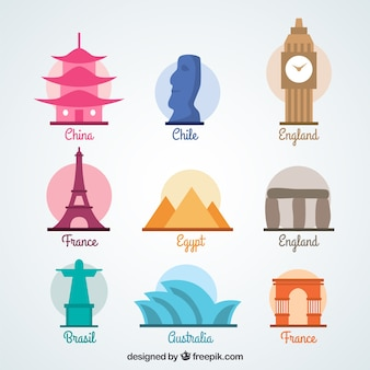 World monuments набор