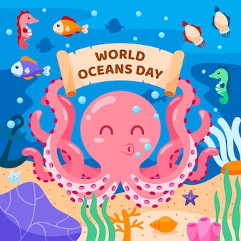 Концепция всемирного дня океанов