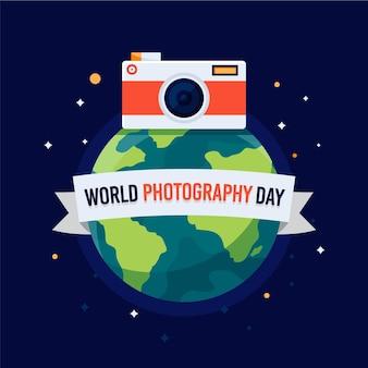 世界写真デーのお祝い
