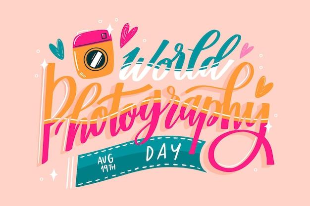 Всемирный день фотографии надписи