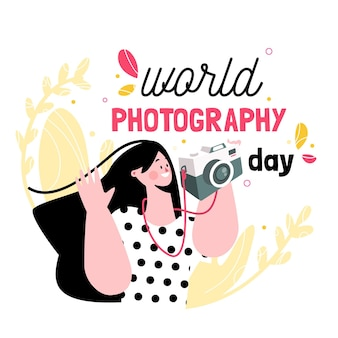 World photography day with photographer