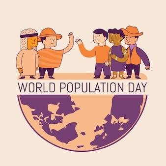 세계 인구의 날 그림