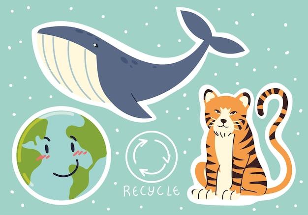 世界のリサイクルとエコロジー