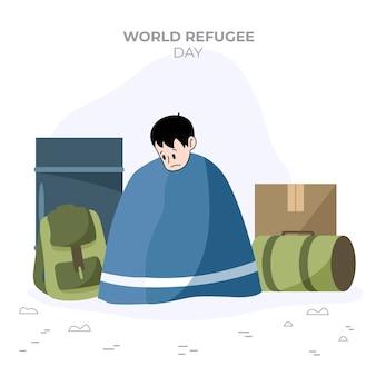 世界難民の日を図解