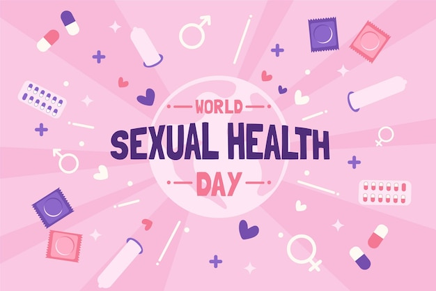 世界の性の健康の日の背景