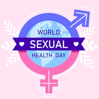World sexual health day concept