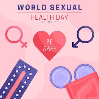 Concetto di giornata mondiale della salute sessuale