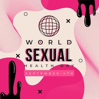 World sexual health day design