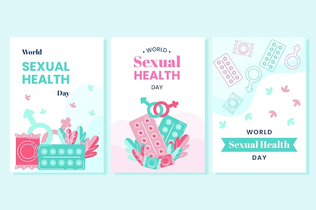 世界の性の健康の日チラシコレクション