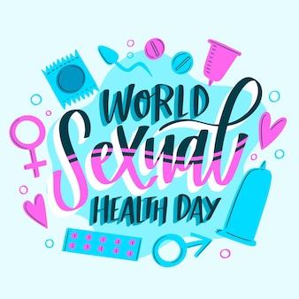 Иллюстрация всемирного дня сексуального здоровья