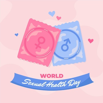 世界の性の健康の日のイラスト