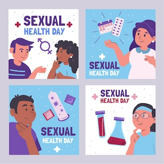 World sexual health day instagram posts collection
