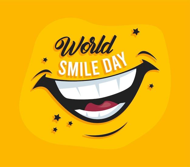 世界の笑顔の日カード