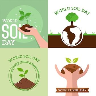 World soil day design vector illustration