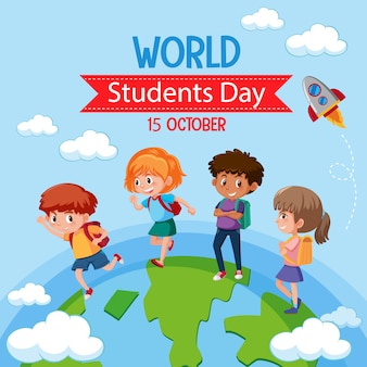 World student day icon