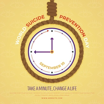 World suicide prevention day take a minute