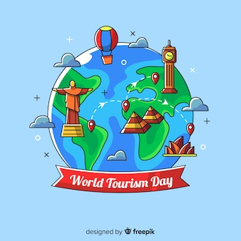 World tourism day background