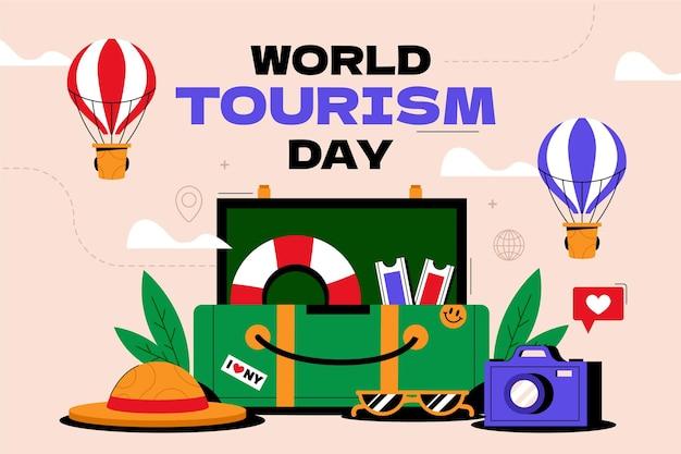 世界観光の日の背景
