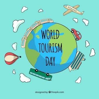 세계 관광의 날, 전 세계의 다른 교통 수단