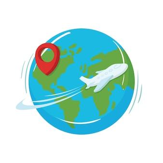 Иллюстрация всемирного дня туризма