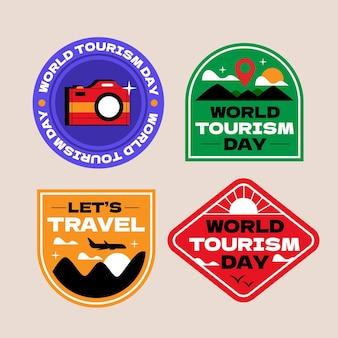 세계 관광의 날 레이블 컬렉션