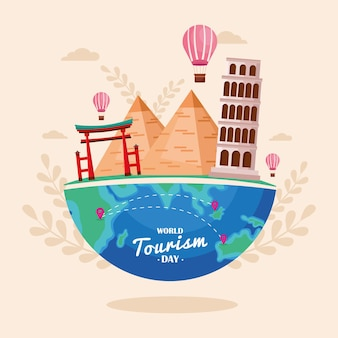 World tourism day poster