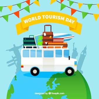 World tourism day, travel around the world