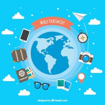 세계 관광의 날, 전세계 여행 요소