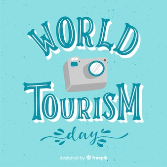 World tourism day with camera