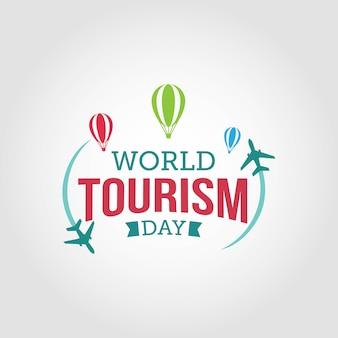 World tourism day Premium Vector