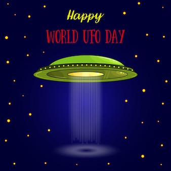 World ufo day.
