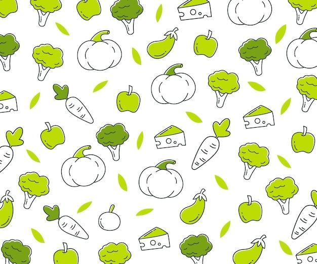 World vegetable day background illustration design