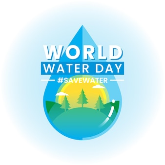 Всемирный день воды баннер