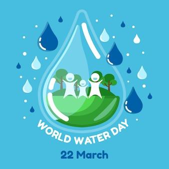 世界水の日のお祝い