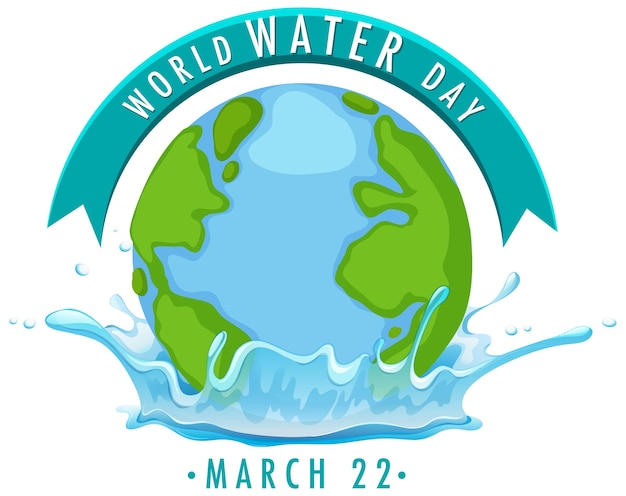 World water day icon