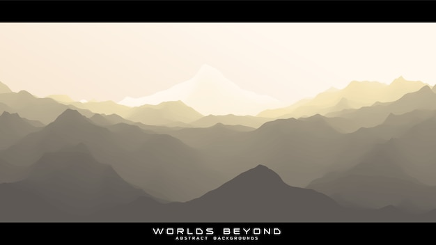 Worlds beyond abstract landscape
