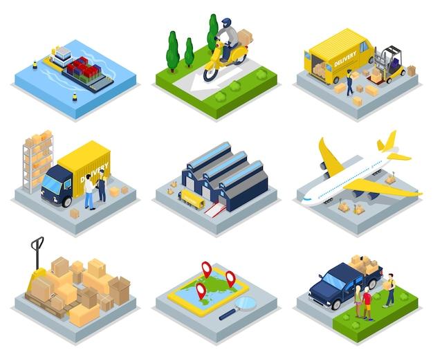 世界的な航空貨物コレクション