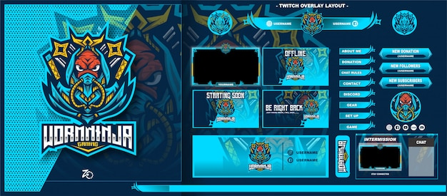 Worm ninja gaming layout