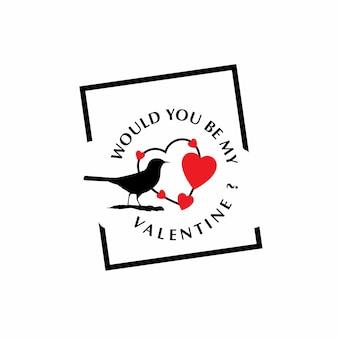 Будете ли вы моим валентином с белым фоном?