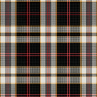 Woven scottish tartan plaid seamless pattern
