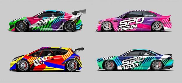 Концепция автомобилей wrap designs