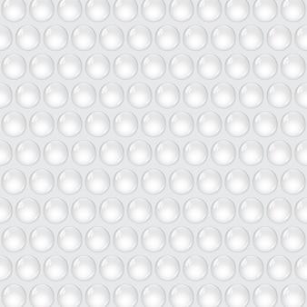 白い背景に泡を包む