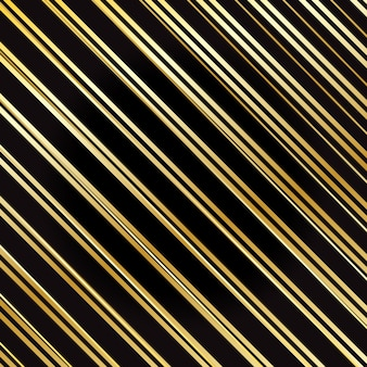 Wrapping stripes pattern. gold striped background.