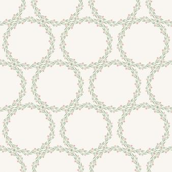 Wreath pattern design