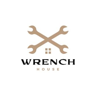 レンチ クロス ハウス住宅ローンのロゴ