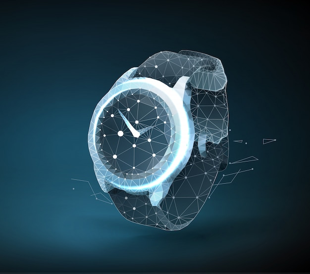 Иллюстрация наручных часов
